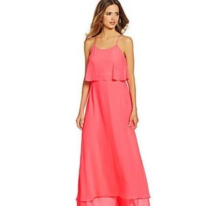 Gianni Bini Penelope maxi dress in hot pink